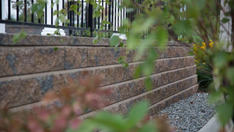 Custom Patio & Retaining wall